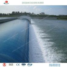 Presa de goma inflable para control de agua e irrigación
