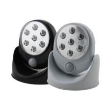 7 LED 4 * AA elastyczny Czujnik światła