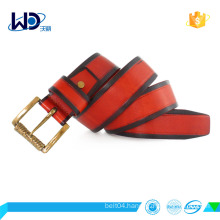 popular style factory design fashion cowhide leather belt