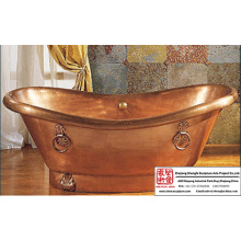 Copper Tub Sculpture