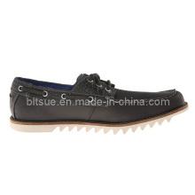 Zapatos de diseñador de moda de cuero genuino
