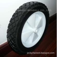 Semi Pneumatic Wheel,Hollow Rubber Wheel