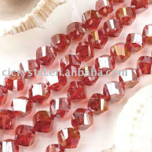 2016 Hot Selling Crystal twisted Beads