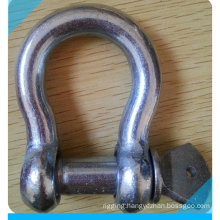 Zinc Plated Commerical Type Us Type Bow Shackle