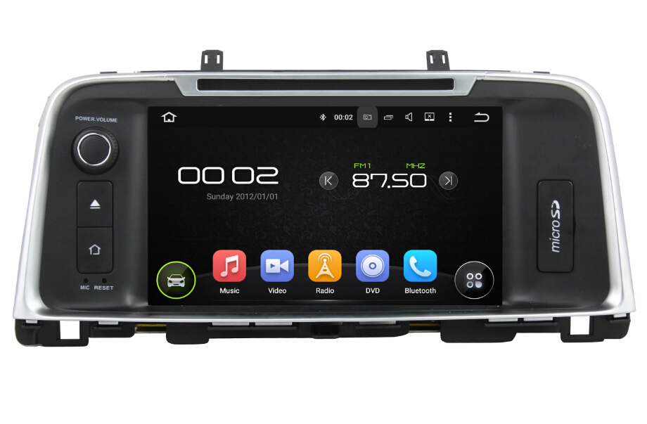 8 Inch Android KIA K5 Car DVD Player