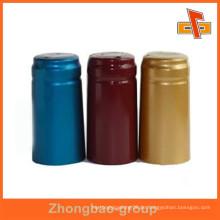Hochwertige Clear Pvc Heat Shrink Cap Seal für Wasser Etiketten