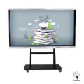 86 Zoll LED Hintergrundbeleuchteter Bildschirm mit Ständer
