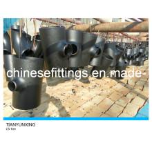 Buttweld P265gh Nahtloses Kohlenstoffstahl reduziertes T-Stück