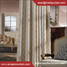 Elegant Comfort print Look Panel Set office window curtains design