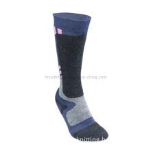 High Quality Ski Socks with Wool/Acrylic (FL-03)
