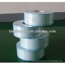 Bolsas plásticas de esterilización sellables por calor de consumibles médicos