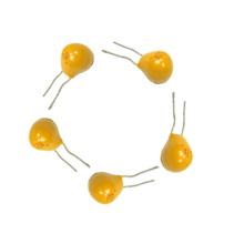 Venta caliente amarillo Tantalum Radial Condensador-2