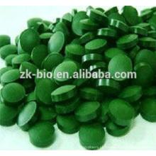 Comprimidos de Chlorella Orgânicos de alta qualidade