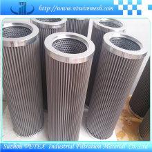 Elementos de filtro de aço inoxidável resistentes ao calor