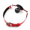 Good Leather Soft Red Fashion Sex Toys for Couples Sex Game Bdsm Bondage Ball Gag