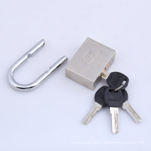 Top Security Nickel Plated Split Type Computer Key Iron Padlock