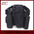 Police Drop Leg Gun Holster with Tactical Mag Pouch for CQC Colt 1911