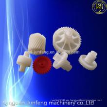 Engranaje de plástico personalizado, engranajes de piñones de plástico de nylon, engranaje de rueda de plástico