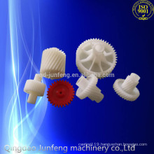 Custom plastic gear, nylon plastic sprockets gear, plastic wheel gear