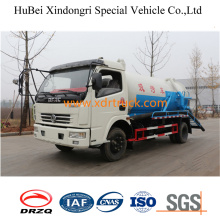5.5cbm Waste Water Suction Truck New Model