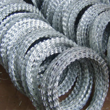 BTO22 hot dip galvanized concertina razor wire tape
