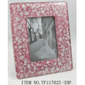 Crystal Fused Glass Photo Frame