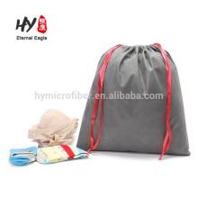 Sac de paquet de cordon non tissé de taille faite sur commande