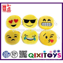 2016 mais popular emoji item produtos emoji coin purse