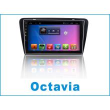 Reproductor de DVD del coche del sistema del androide para Octavia con la navegación del GPS del coche y WiFi