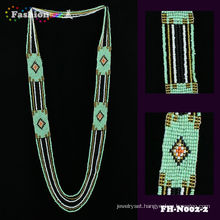 New fashion trend custome beaded necklace summer color