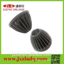 China manufacture CNC customized aluminum radiator casting parts