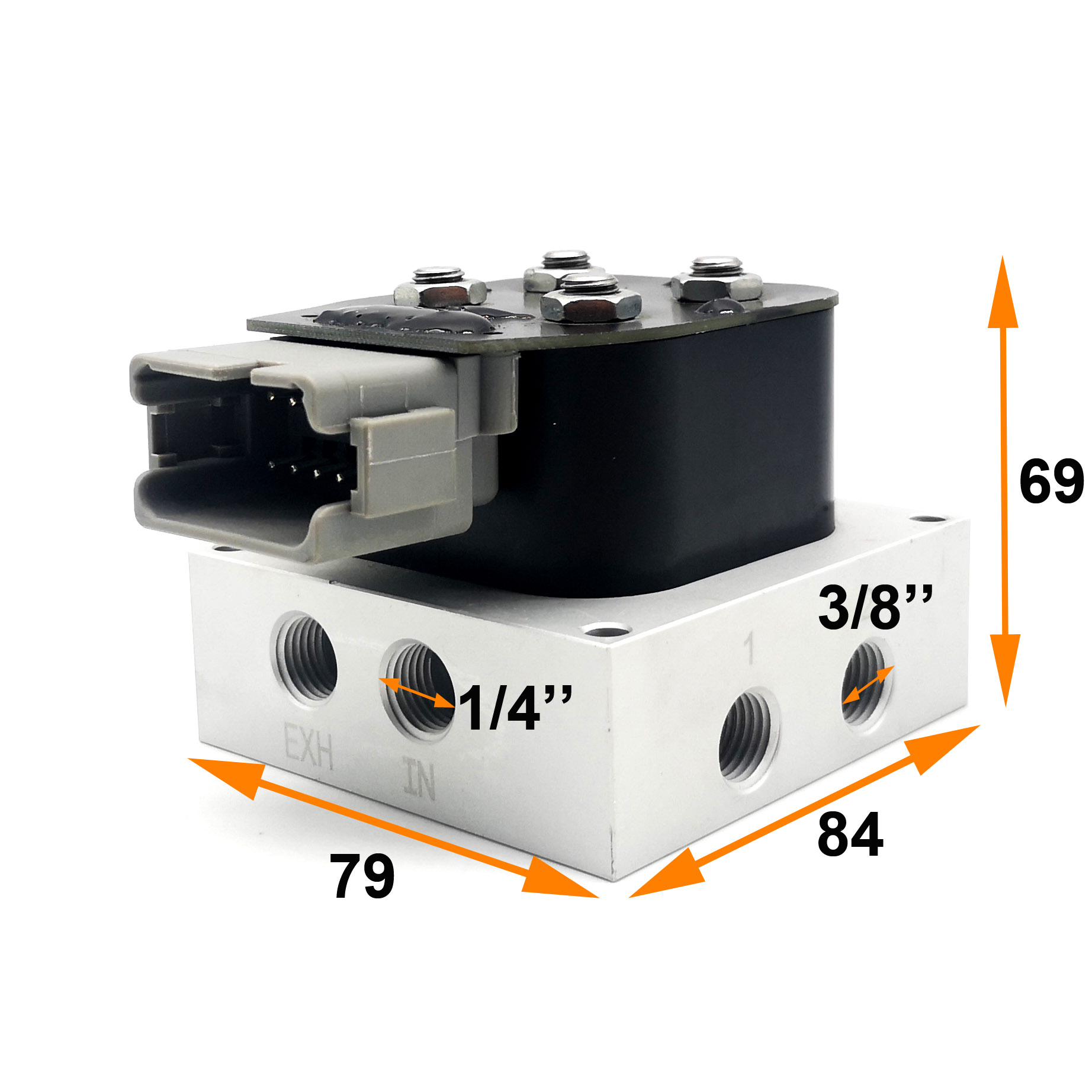 VU2 Full Air Suspension Solenoid Valve Block