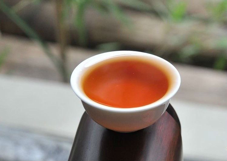 Oolong tea fermented tea