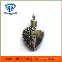 Joyería del colgante de la forma del corazón del acero inoxidable 316L