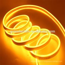 Ультра тонкий SMD 2835 теплый белый высокая яркость светодиодный неон Flex свет веревочки водонепроницаемый IP67