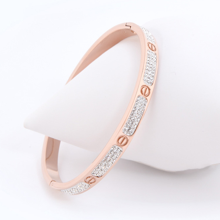 Rose Gold Love Bracelet