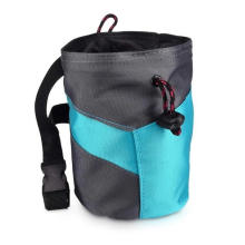 Waterproof Outdoor Zipper Pocket Rock Climbing Custom Chalk Bag Big