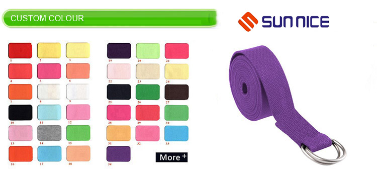 multi-standard color yoga straps