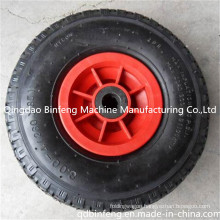 3.00-4 Pneumatic Tyre Rubber Wheel for Casters, Hand Trolley, Wheelbarrow, Hand Trucks