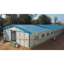 Light Steel Structure Prefab Office and Dormitory Building