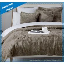 Cobertor De Inverno De Pêlo Comprido Faux Fur Oversized