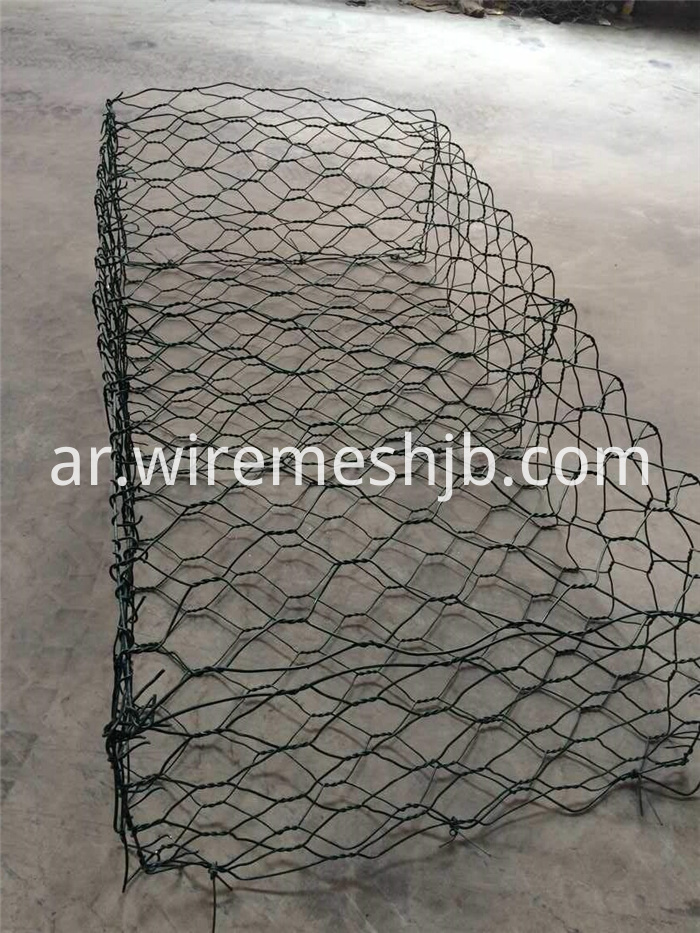 PVC Coated Gabion Baskets