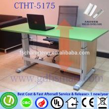 muebles de porcelana con altura de precio ajustable escritorio de la computadora piernas patas de la mesa de hierro forjado