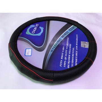 Car leather steering wheel covers