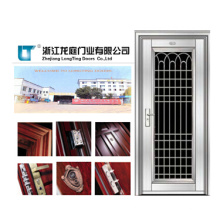 Porte d'entrée en acier inoxydable populaire de l'Inde (LTSS-1029)