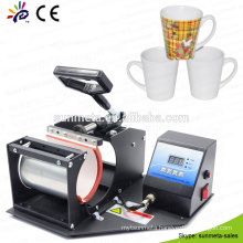 Mug printer Plate Type and Heat Press Machine Type conical mug press