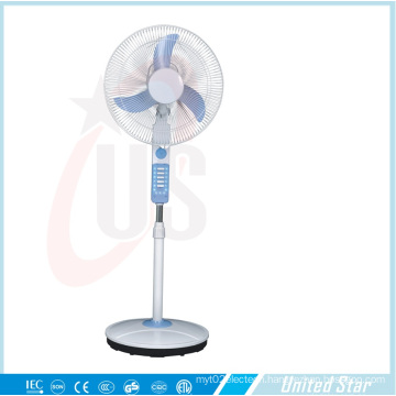 16′′standing Rechargeable /DC Fan (USDC-422) with CE, RoHS