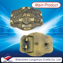 Antique Bronze Plating 3D Design Metal Custom Royal Belt Buckle (LZY201300003)