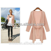 15STC2213 lady spring summer linen cardigan