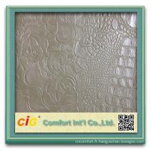 Mode nouveau design pvc fleur colorée impression PVC sac cuirs